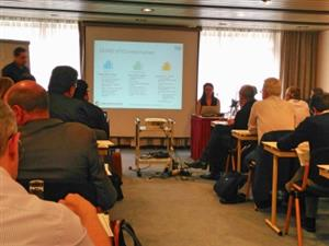 Cartif's Cecilia Sanz at EeB-PPP Impact Workshop