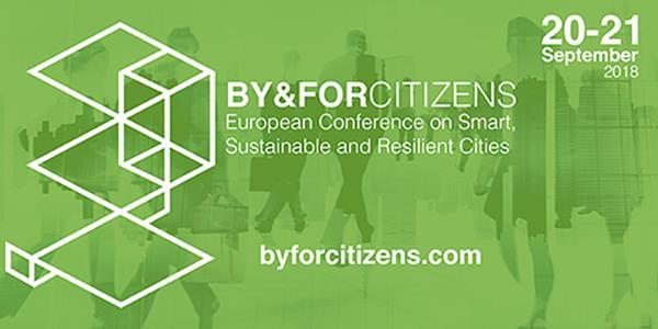 "BY&FORCITIZENS conference on ""Smart Regeneration of Cities and Regions"", 20-21 September 2018, Valladolid"
