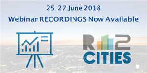 R2CITIES Webinar Recordings now available